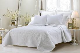 Oversized-3pc Quilted Coverlet Set- White - Bed in a Bag | Looking ... & Save 25% Oversized-3pc Quilted Coverlet Set- White Adamdwight.com