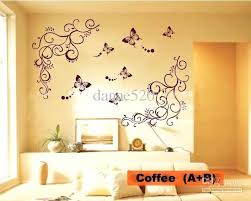 flower wall decals excellent erfly vine art stickers 3d white hobby lobby kids room flower wall