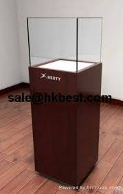 Free Standing Display Cabinets Customize Free Standing Jewely Display Cabinet For Luxury Jewelry 62