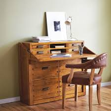 office bureau desk. Nibbed Solid Oak Office Chest Desk Bureau - Montana By Halo Furniture M
