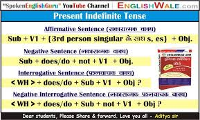 English Charts English Wale Tenses Chart Verb Chart
