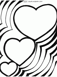 Small Picture Coloring Pages Hearts glumme
