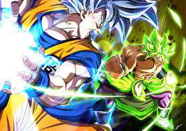 Goku Vs Broly HD Wallpaper ...
