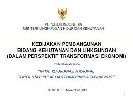 Plan low interest rates and bank profits future! Panel Viii Rakornas 2019 Menteri Lhk
