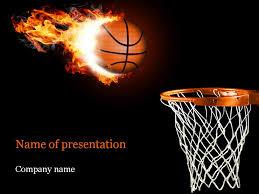 Basketball Powerpoint Template Basketball PowerPoint Template Template 3