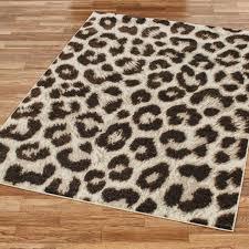 leopard area rugs skin for rug cheetah zebra cowhide black and white print round plush