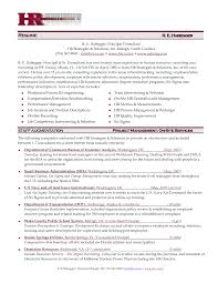 Resume For Human Resources Manager Tomyumtumweb Com