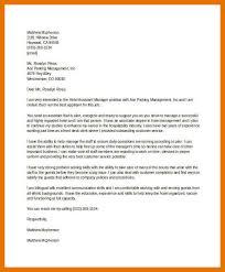 Management Cover Letter 9 10 Cover Letter For A Hotel Job Juliasrestaurantnj Com