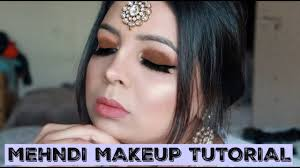 mehndi party wedding no makeup look bisma noor urdu tutorial