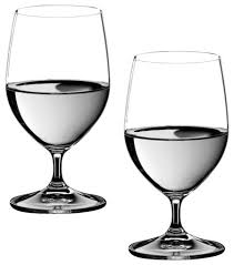 riedel vinum water glasses set of 2 traditional everyday glasses by chef s nal