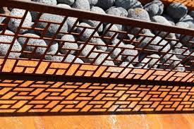 Garden Design Portland Classy Steel In The Contemporary Garden Drake's 48 Dees Landscape Design