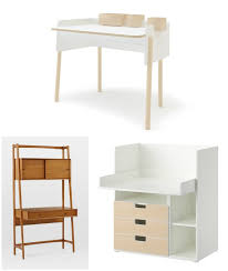 Beautiful modern kids' desks for small spaces .