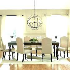 how to choose the right size chandelier for dining room what rectangular chand