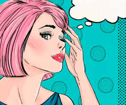 Comic Girl Stock Photos And Images - 123RF