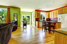 Kitchen And Living Room Flooring Eco Friendly Flooring Home Decor