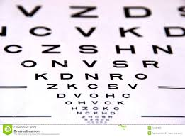 Photography Test Chart Eye Chart Test Stock Photo Image Of Check Letter Eyesight