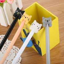 1 Pcs <b>Creative Cartoon Cute</b> Sugar colored Cat Neutral Pen Water ...