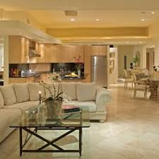 confetto ffertig contemporary living room. Inspiration For A Contemporary Open Concept Marble Floor Living Room Remodel In San Diego With Beige Confetto Ffertig F