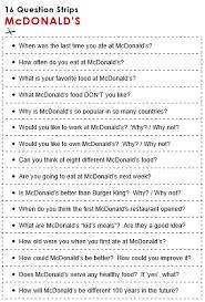Mcdonalds All Things Topics