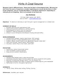 Good Resumes Examples Of Resume That Get Jobs Templates Free For
