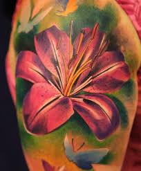Lily Tetování Historie Význam Vlastnosti