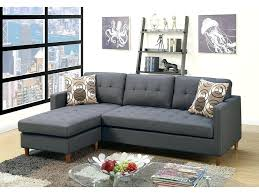 blue gray sectional sofa couch leather american signature