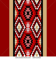 Exellent Navajo Border Designs Colorful Red White And Black Aztec Ornaments Geometric Design Ideas