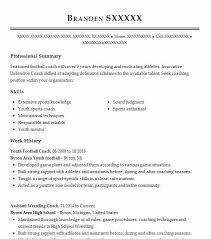 Wrestling Coach Resume Youth Football Coach Resume Example Byron Area Youth