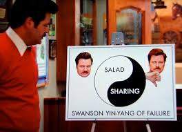 Ron Swanson Chart Of Manliness Swanson Pyramid Of Greatness Ron Swanson Quotes