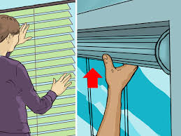 Kitchen Blinds Homebase How To Fit A Roller Blind 9 Steps With Pictures Wikihow