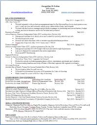 building my resume