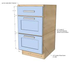 Ana White Build A 18 Kitchen Cabinet Drawer Base Free And Easy