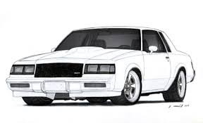 muscle cars drawings. Contemporary Cars Muscle Cars Drawings  Gallery For N