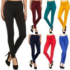 <b>Winter Solid</b> Leggings for <b>Women</b> for sale | eBay