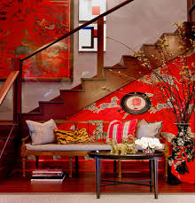 View in gallery red themed home designs with an asian twist