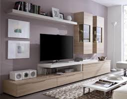Small Picture Living Room Tv Wall Unit With Shelves Inside White Glass Cabinet