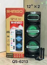 Loa Di Động Karaoke KIMISO QS-6213 (Bass đôi 12