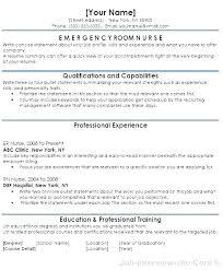 Nursing Resume Objective Amazing Rn Objective Resume Resume Tutorial Pro