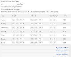 Calculator For Timesheet 10 Online Timesheet Calculator Websites Free