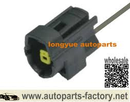 popular ford harness connectors buy cheap ford harness connectors longyue 2pcs 1 way engine oil level sensor connector wiring harness 8 case for ford
