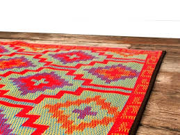 plastic red outdoor rug