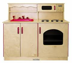 ecr4kids birch wooden kitchen