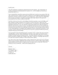 Motivation Letter Architecture Internship Resume Templates Free
