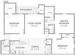 3 bedroom c flat floor plan bed 2 bath apartment plans