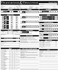 dungeons and dragons character sheet online dungeons and dragons its gonna happen archive mabination