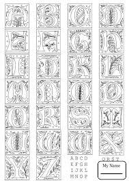 Full alphabet worksheet 3 letters and alphabet english alphabet ...