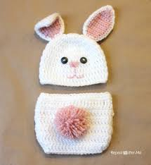 Free Crochet Bunny Pattern Impressive Crochet Bunny Hat Pattern Repeat Crafter Me