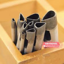 3mm 39mm teardrop hole puncher hole maker for leather image 0