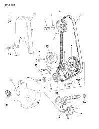 1987 dodge dakota timing belt covers intermediate shaft indicator