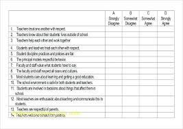 Questionnaire Format Word Sample Survey Templates Form Template